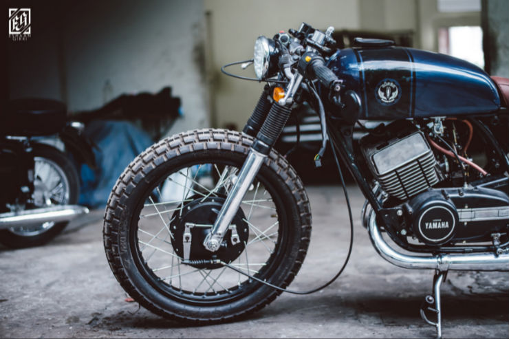 Five beautifully modified Yamaha RD350s from around the world