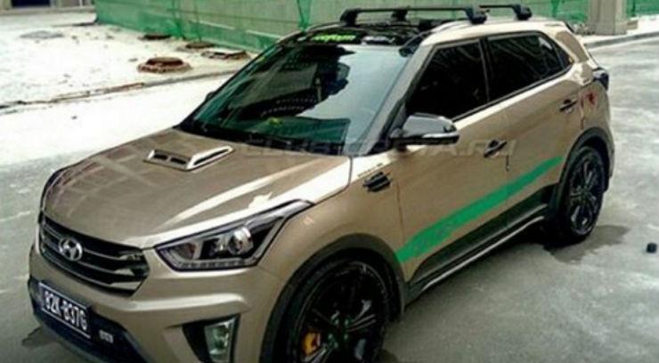2016 Hyundai Santa Fe >> Hyundai Creta: Hot transformation ideas