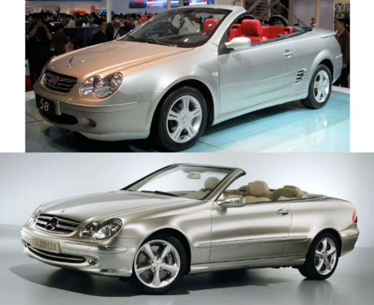 BYD-S8Mercedes-Benz-CLK