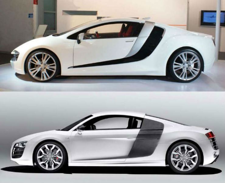 Continued: 50 Copy cat cars from China