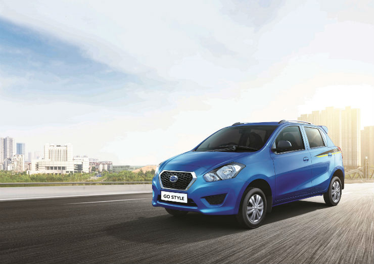 Datsun launches Style edition of Go and Go+