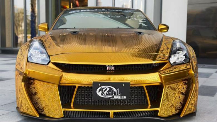GT-R Gold