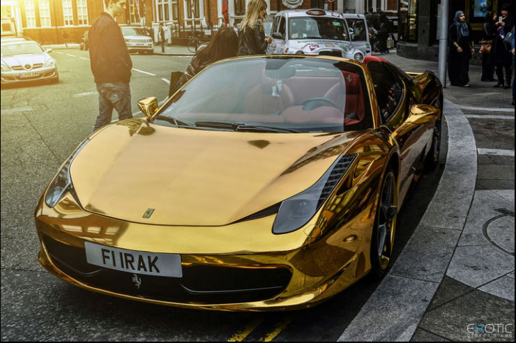 Cars For The Gold Obsessed From India The World