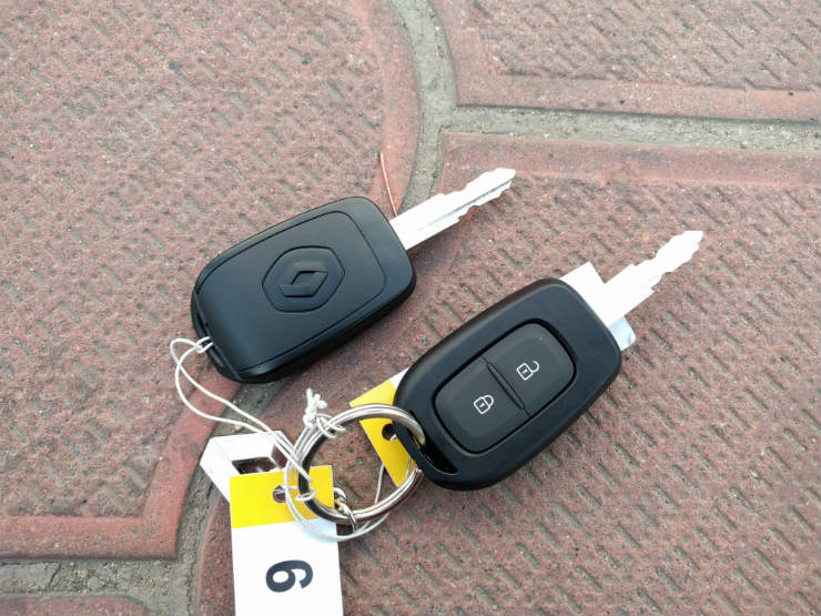 Kwid key