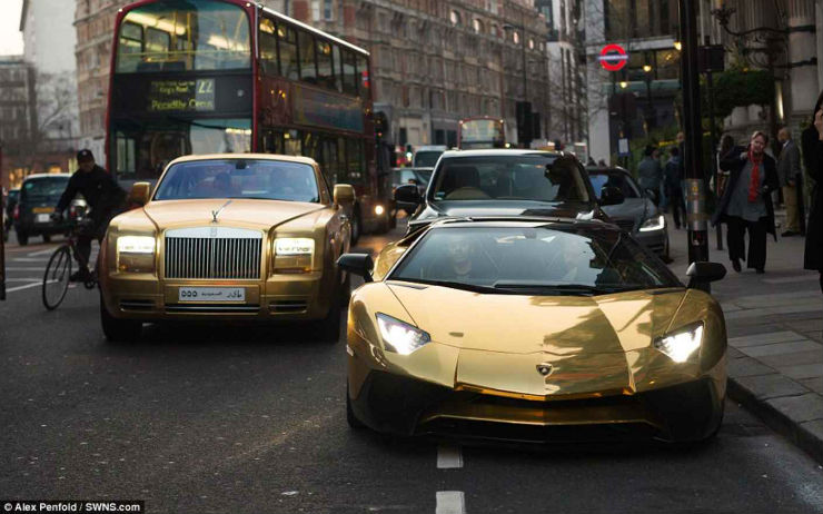 Continued: Cars for the GOLD obsessed: From India & the world