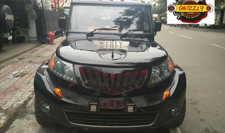 Mahindra Bolero Grizzly Customs 1