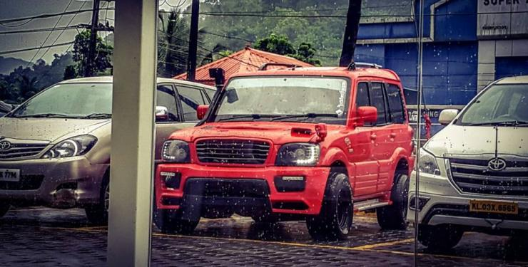 modified mahindra scorpio