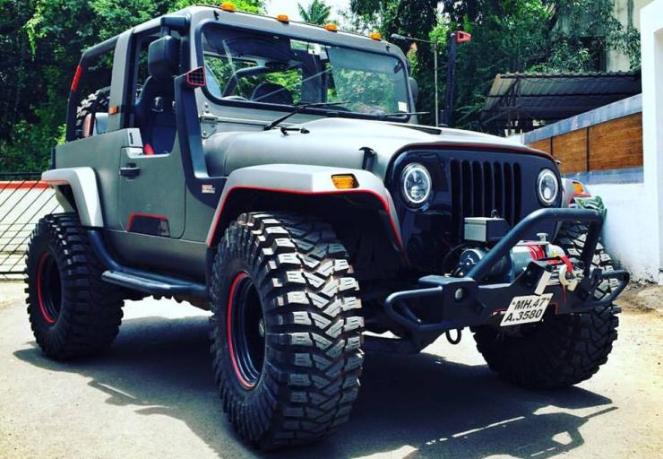 Future Mahindra Thar To Be A Lot Safer Modern 5 Renders To Show
