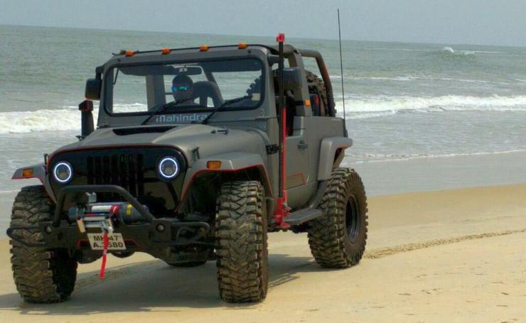 Open jeep car price in india 2017 14