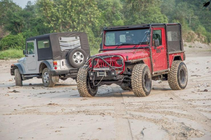 Mahindra Thar Modified by Backyard Customs 10