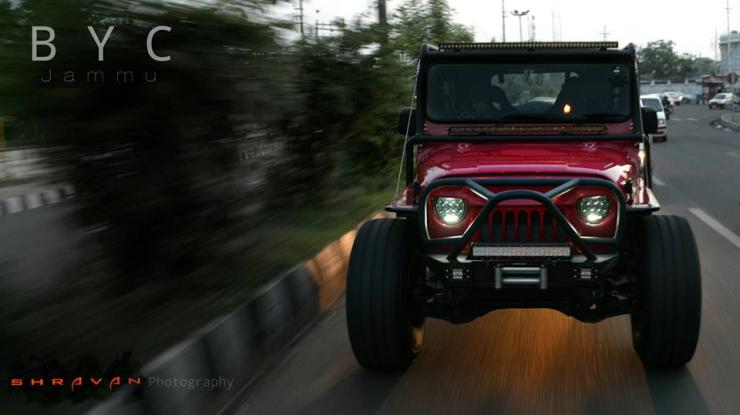 Mahindra Thar Modified by Backyard Customs 2
