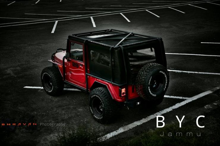 Mahindra Thar Modified by Backyard Customs 5