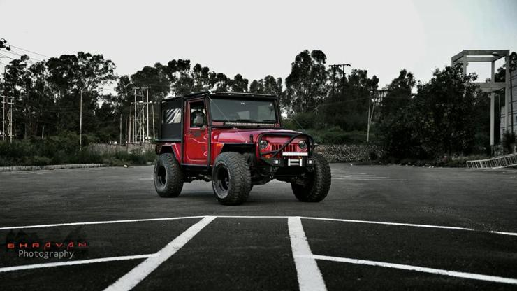 Mahindra Thar Modified by Backyard Customs 8