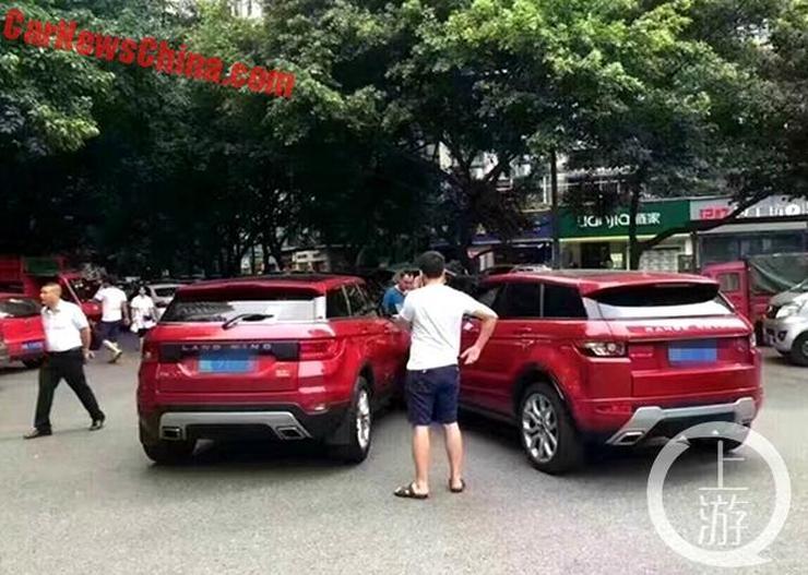 Range Rover Evoque vs Landwind X7 3