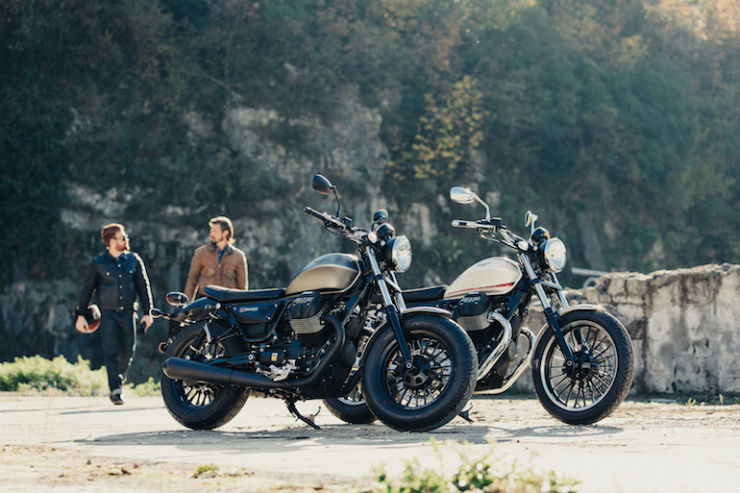 Two new Moto Guzzi coming this month