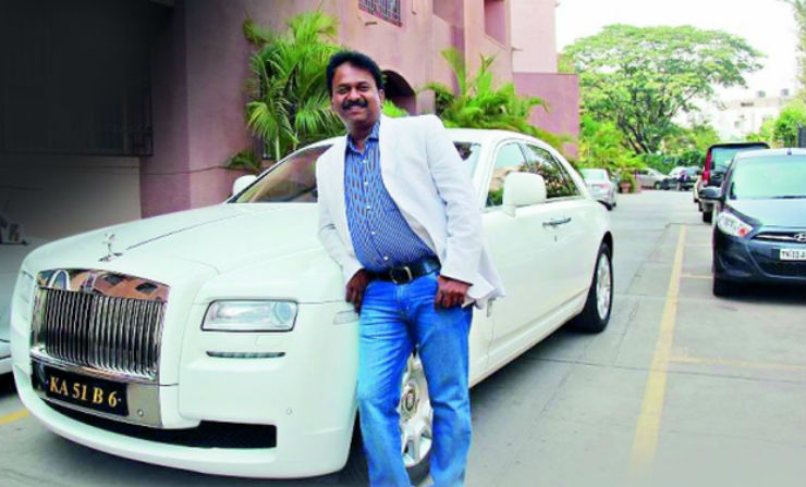 How this next-door barber ended up owning a Rolls Royce Ghost