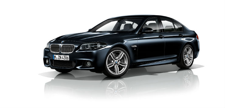 The new BMW 520d M Sport (1)