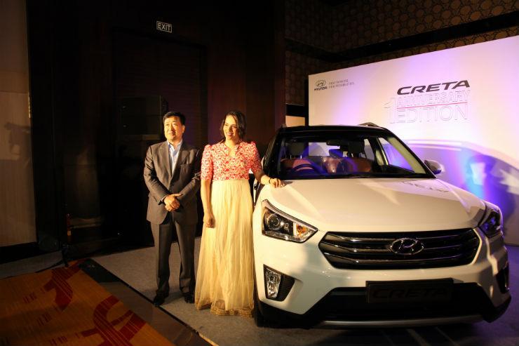 Hyundai celebrates Creta's first anniversary. New models launched