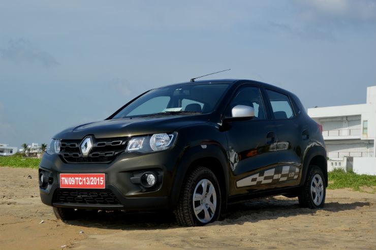 Renault Kwid AMT teased ahead of launch