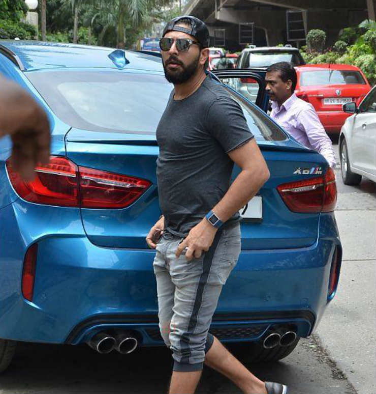 Yuvraj Singh is a huge BMW nut: Some examples