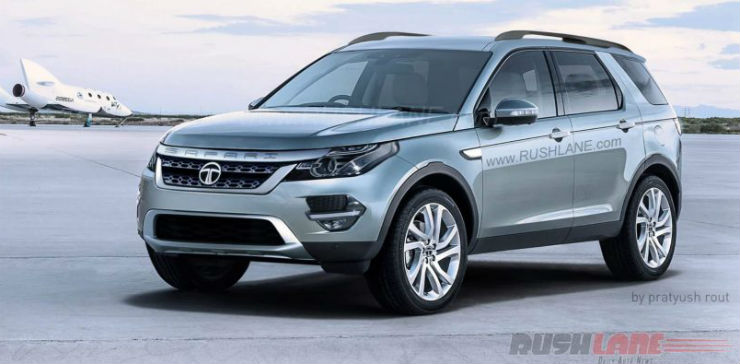 Tata Safari Render 2018 >> Tata's 5 new SUVs for India