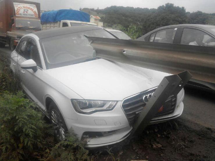 Audi A3 Crash 1
