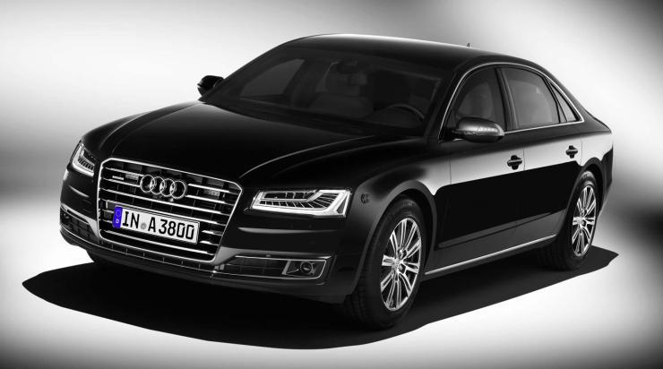 Audi A8 Security