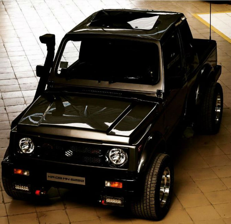 Tastefully Modified Maruti Gypsys Of India