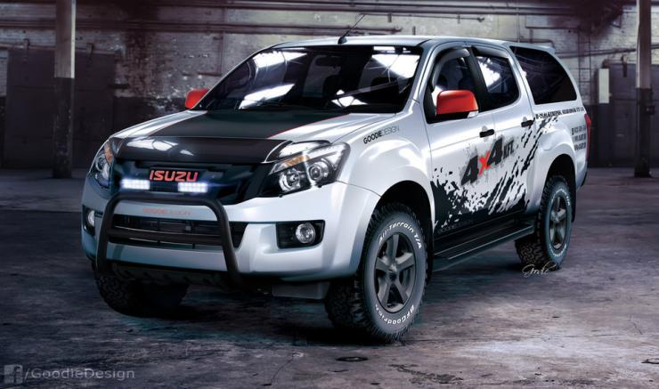 why the isuzu d max v cross may be better for you than the. Black Bedroom Furniture Sets. Home Design Ideas