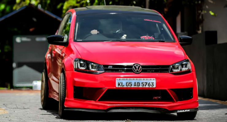 Here Is One Such Polo That Has Been Modified Tastefully It Comes With PSD Body Kit Further Increases The Aggressiveness Of Car