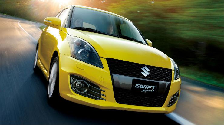 Suzuki-Swift-Sport-Yellow