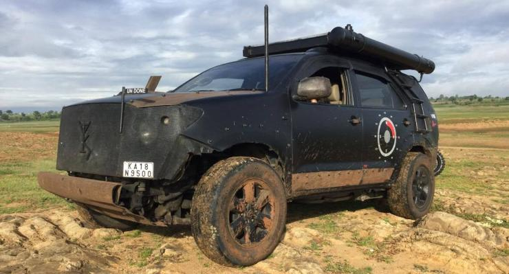 Toyota Fortuner Modified 1