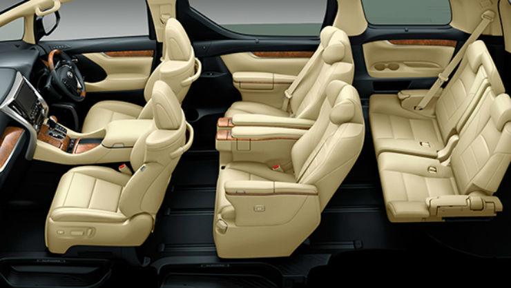 Toyota alphard mpv innova crysta 39 s big brother coming for Innova interior 8 seater