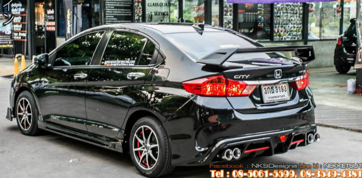 5 'Bodykitted' Honda Citys that look awesome