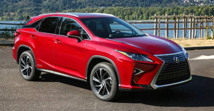 Lexus RX450h ready for launch in India