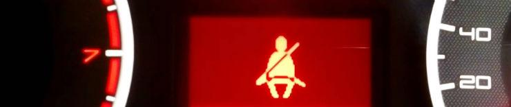 seatbelt warning
