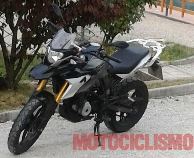 BMW G310 based ADV bike 2