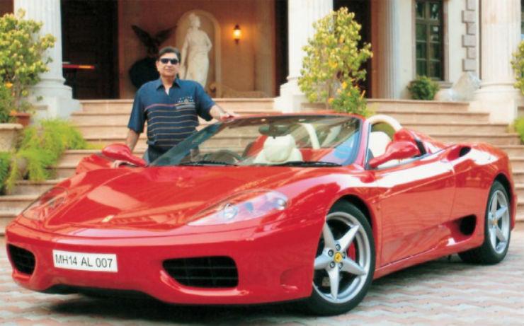 Cyrus-Poonawalla-with-his-Ferrari-F430
