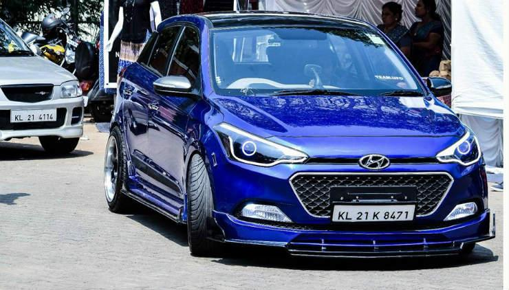 Hyundai Elite i20 Lowered