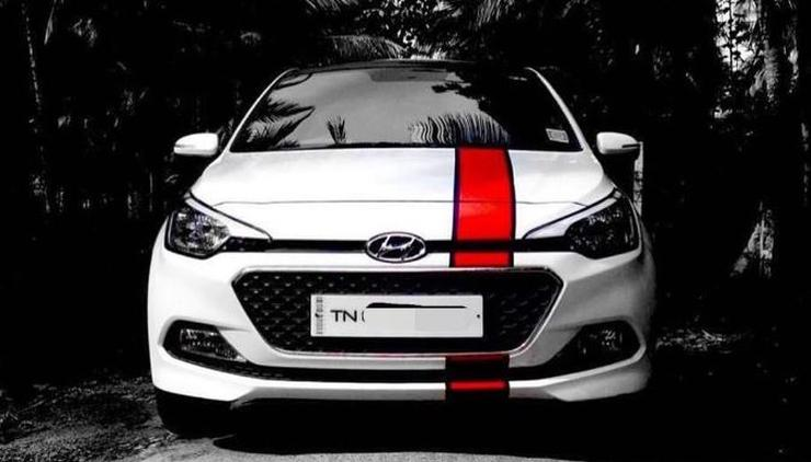 continued ten awesome modified hyundai elite i20s of india. Black Bedroom Furniture Sets. Home Design Ideas