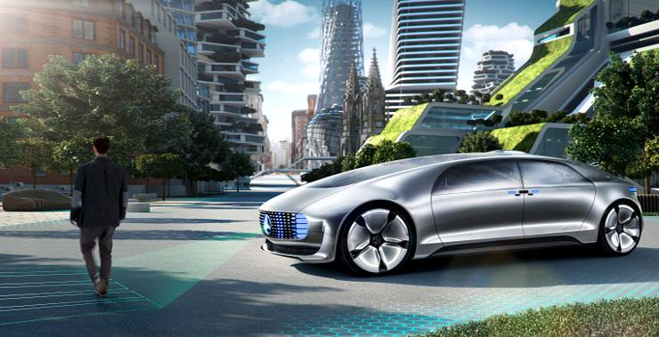 Mercedes Benz Self Driving Car 1