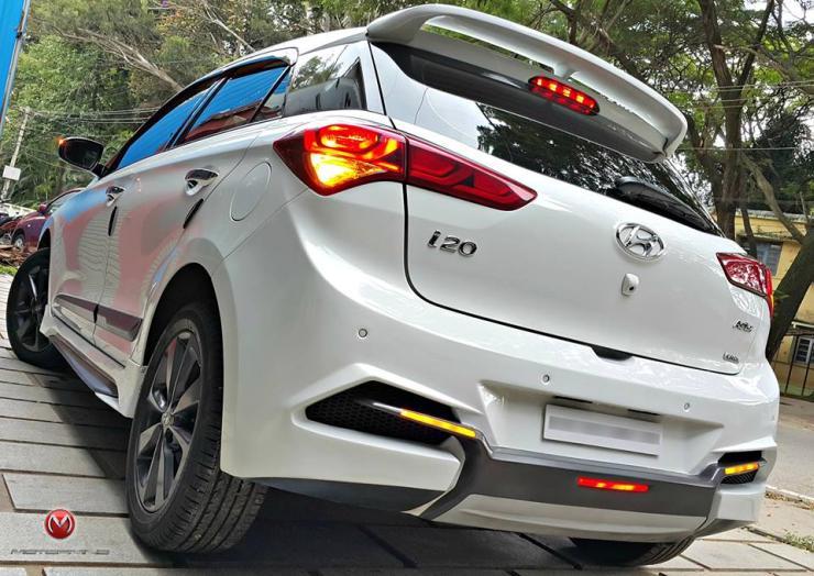 Motormind Hyundai I20 Elite Custom 2