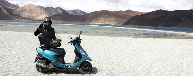 TVS-Scooty-Zest-110-Anam-Hashim-Pangong-Lake