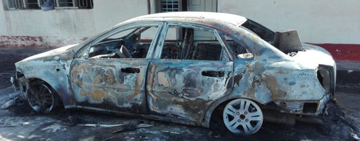 madikeri car fire