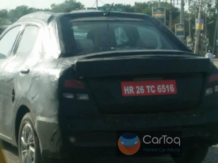 Exclusive: New Maruti Swift Dzire spied for the first time