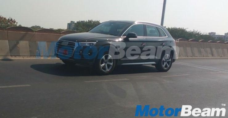 2017 Audi Q5 spied