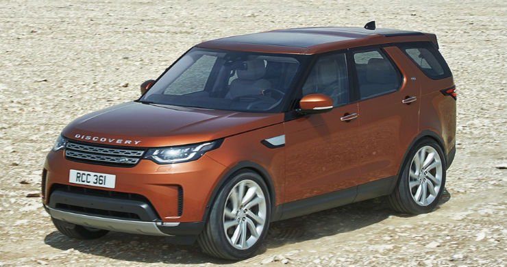 Land Rover Discovery launched