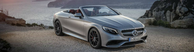Mercedes-Benz C-Class and S-Class go topless!
