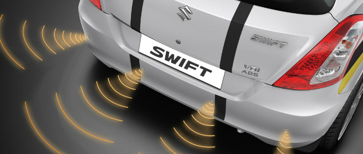 Maruti-Swift-Windsong-Edition-parking-sensors