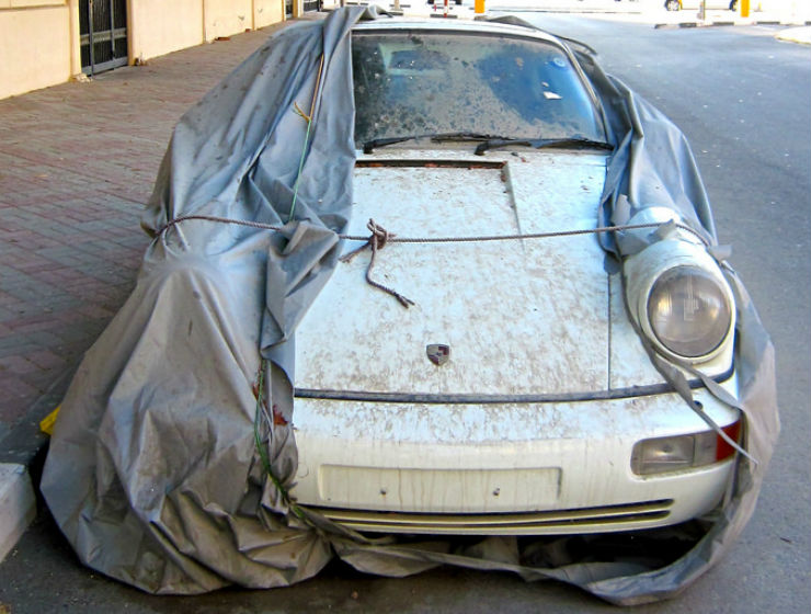 Continued: Super exotic cars left to rot and DIE in Dubai